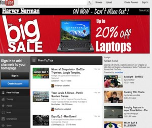Harvey Norman YouTube Display Ads