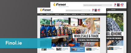 Finol Oil Portfolio - Digital Insights Website Production